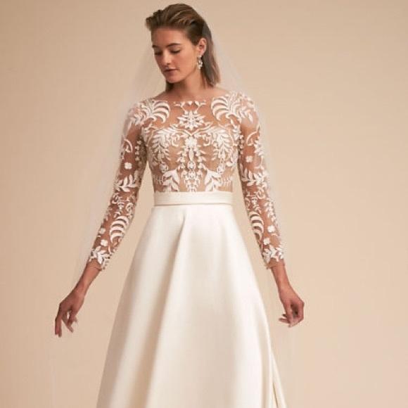 Watters Dresses Nwt Bhldn Wedding Dress Poshmark
